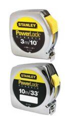 STANLEY 0-33-158  Metr svinovací 5m Powerlock PVC-Stanley Powerlock svinovací metr BladeArmor 5m/16' pouzdro z ABS materiálu